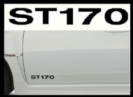 FORD ST170 CAR BODY DECALS